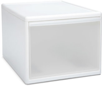 Container Store Like-it® Modular Tall Wide Drawer White