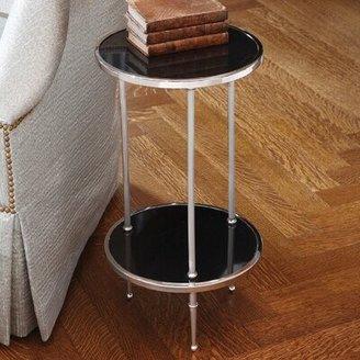 Global Views Pettie 3 Legs End Table Color: Nickel