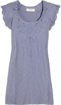 Vanessa Bruno Broderie anglaise cotton mini dress