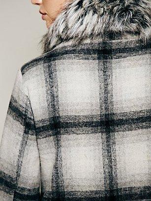 Nicholas K Noble Check Coat