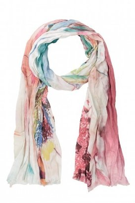 SPUN SCARVES Music Printed Scarf