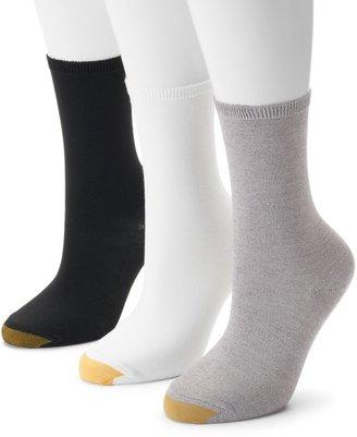 Gold Toe GOLDTOE 3-pk. Castaway Crew Socks