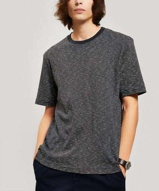 Folk Fine Stripe Cotton T-Shirt