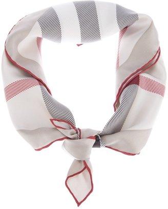 Burberry classic check print scarf