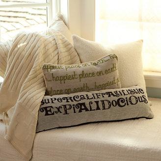 Disney Mary Poppins Pillow - ''Supercalifragilisticexpialidocious''