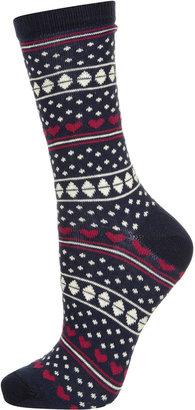 Topshop Fairisle Ankle Socks