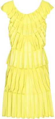 Temperley London Pleated origami dress