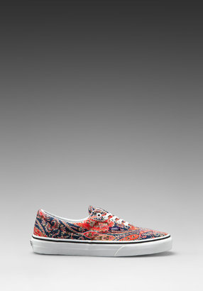 Vans Era Liberty in Paisley/Navy