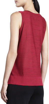 Vince Misook Sequined Metallic Knit Tank, Women's
