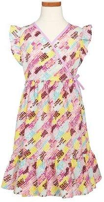 Tea Collection 'Rosewater' Wrap Dress (Toddler Girls, Little Girls & Big Girls)