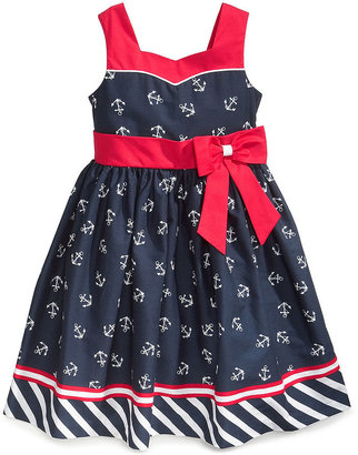 Jayne Copeland Little Girls' Nautical Sailboat Dress