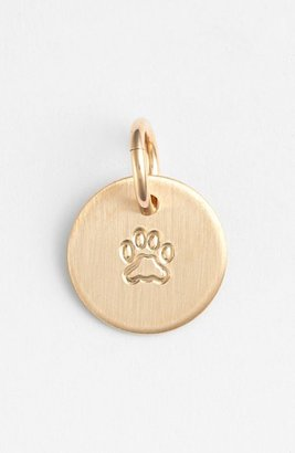 Women's Nashelle Paw Mini Stamp Charm $22 thestylecure.com