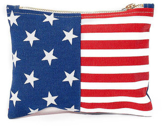 American Apparel Small Stars & Stripes Printed Carry-All Pouch