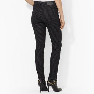 Lauren Ralph Lauren Ralph Pinstriped Modern Skinny Jean