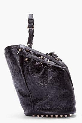 Alexander Wang Black Studded Diego Bucket Bag