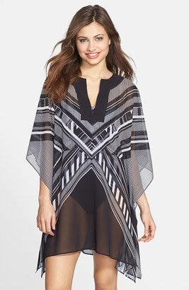 Vince Camuto Geometric Cover-Up Tunic