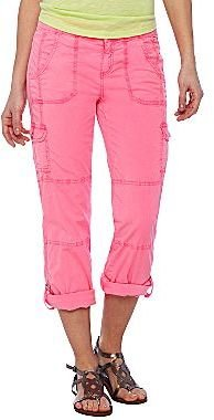 JCPenney a.n.a® Roll-Cuff Cropped Pants