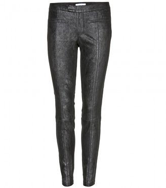 Helmut Lang Stretch-leather trousers