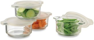 Libbey Handles Storage Bowls with Plastic Lids in 8-Piece Set