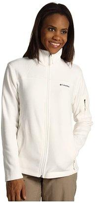 Columbia Fast Trektm II Full-Zip Fleece Jacket (Sea Salt) Women's Coat