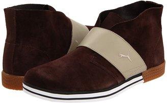 Puma El Rey Turf (Chocolate Brown/Plaza Taupe) - Footwear