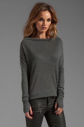 Feel The Piece Funnel Neck Sweater