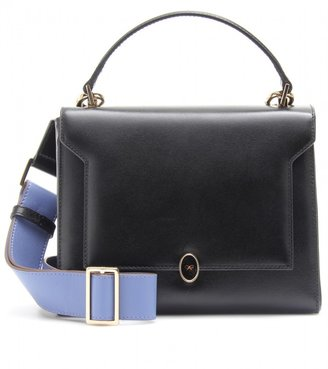 Anya Hindmarch BATHURST BOW LEATHER SHOULDER BAG