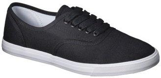 Mossimo Women's Lunea Canvas Sneaker - Black/White