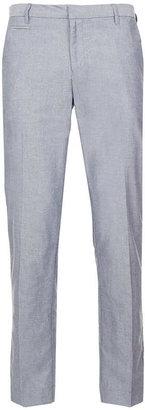 Topman Indigo Oxford Slim Pants
