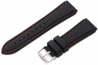 Hadley Roma Hadley-Roma Men's MS3345RQ 220 22mm Genuine Silicone Diver Sport Watch Strap