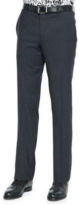 Etro Satin-Stripe Wool Tuxedo Trousers $445 thestylecure.com