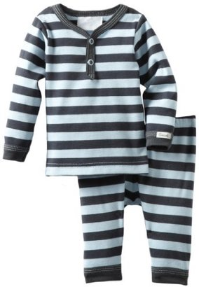 Coccoli Baby-Boys Newborn Urban Life Striped Two Piece Set