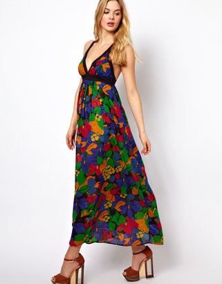 French Connection Fancy Floral Strappy Dress