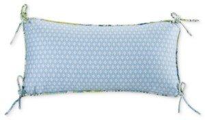 "Echo Sardinia 9"" x 18"" Oblong Diamond Print Decorative Pillow Bedding"