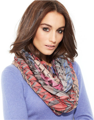 Collection XIIX Tri Geometric Loop Wrap