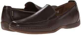 Mephisto Edlef (Black Smooth Leather) Men's Slip on Shoes