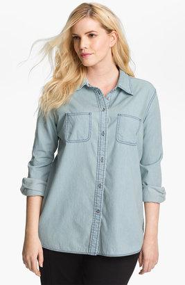 Shirt 469 Denim Shirt (Plus)