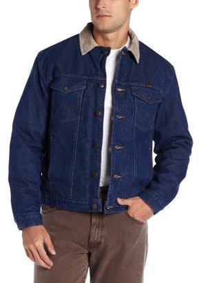 Wrangler Men's Regular Blanket Lined Denim Jacket