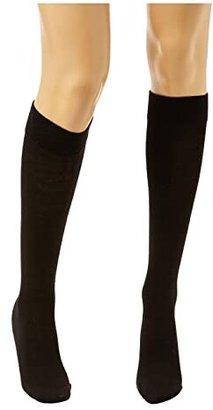 Wolford Merino Knee-Highs (Black) Knee high Hose