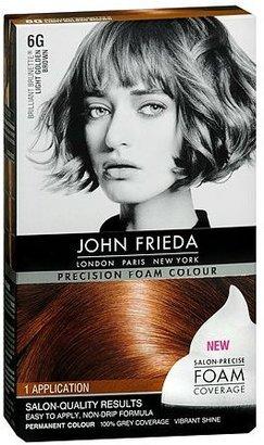 John Frieda Permanent Hair Colour 6G Brilliant Brunette Light Golden Brown