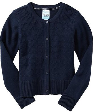 Old Navy Girls Uniform Sweater Cardis
