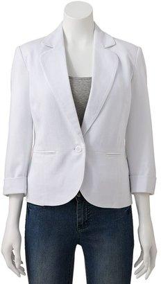 Sag Harbor Women's Solid Blazer