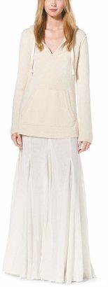 Michael Kors Linen-Gauze Maxi Skirt