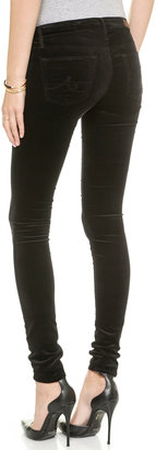 AG Jeans Super Skinny Velvet Pants