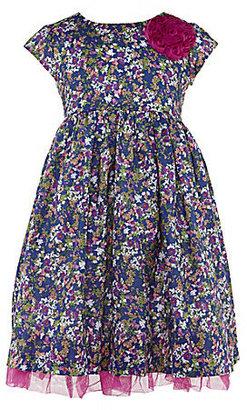 Laura Ashley London 2T-6X Ditsy-Floral Dress