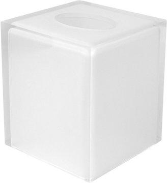 Jonathan Adler Hollywood Tissue Box, White