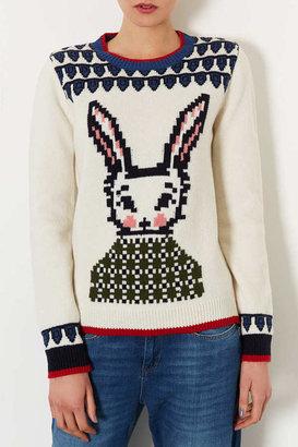 Topshop Knitted Wool Week Jumper