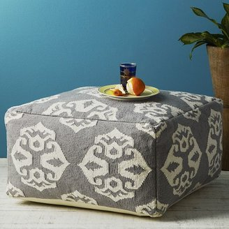 west elm Andalusia Dhurrie Pouf