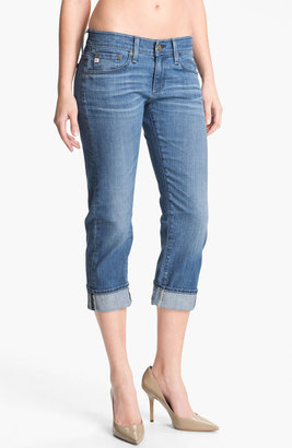 AG Jeans 'Tomboy' Crop Stretch Jeans (17-Year)