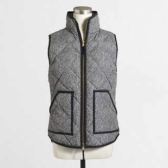 Printed quilted puffer vest $108 thestylecure.com